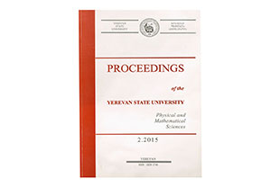 Proceedings of the YSU